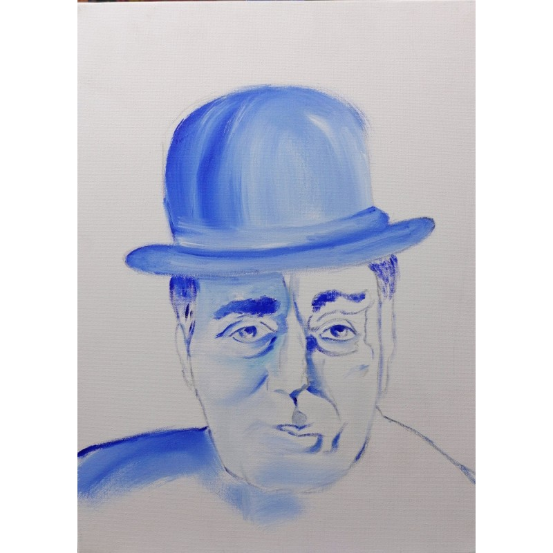 O'Signor oil on canvas cm 30*40